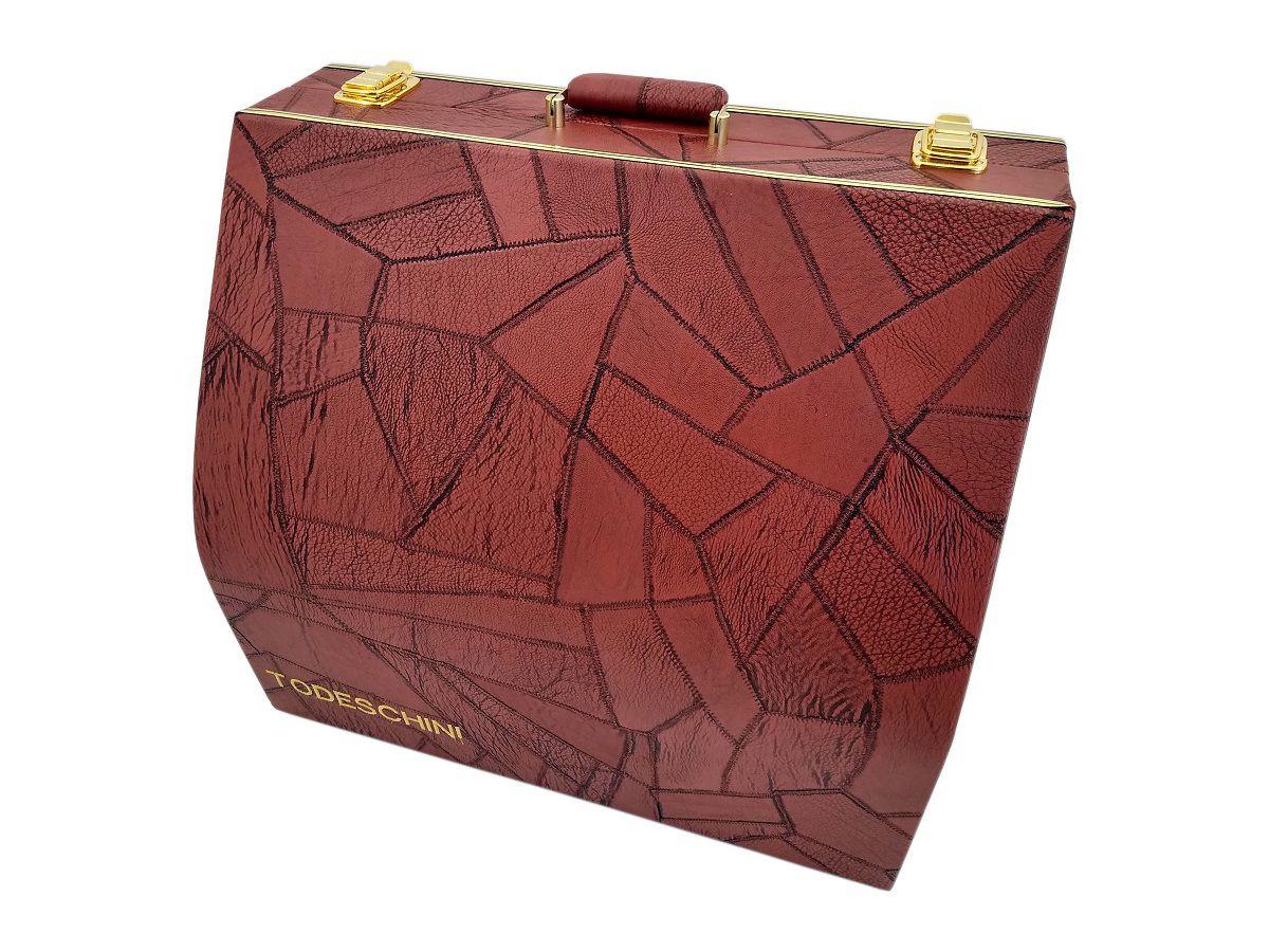 Case Térmico Para Acordeon 120 Baixos Luxo Vermelho
