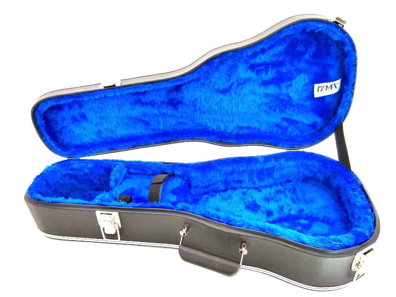 Case Térmico Para Cavaco Cavaquinho Luxo Pelúcia Azul