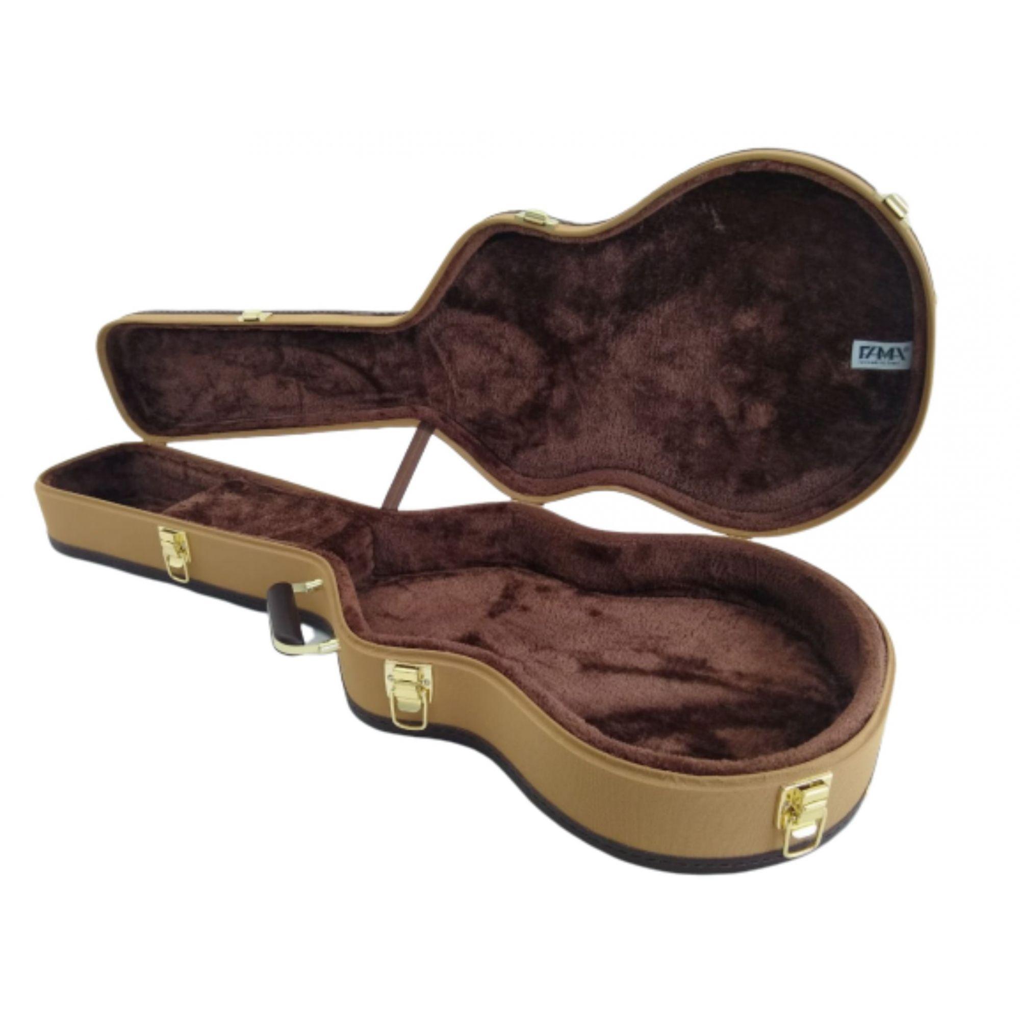 Case Para Guitarra Semi Acústica Tweed
