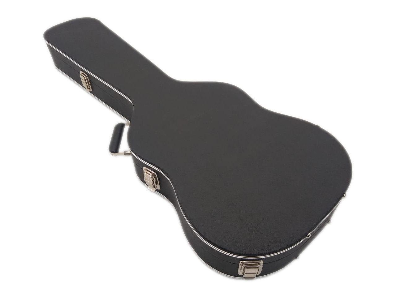 Case Para Guitarra Telecaster Luxo Pelucia Vermelha