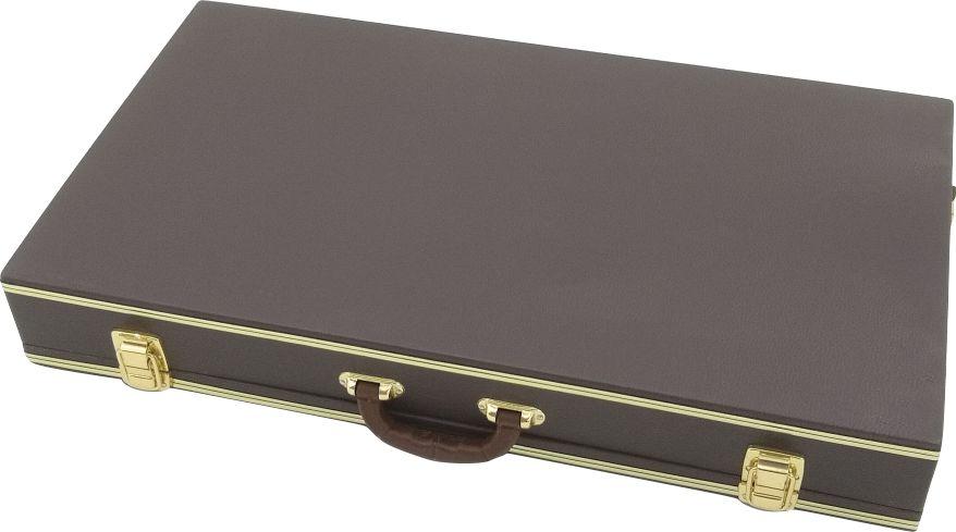 Case Para Pedais Pedaleira Zoom Boss Marrom 70x40x10cm