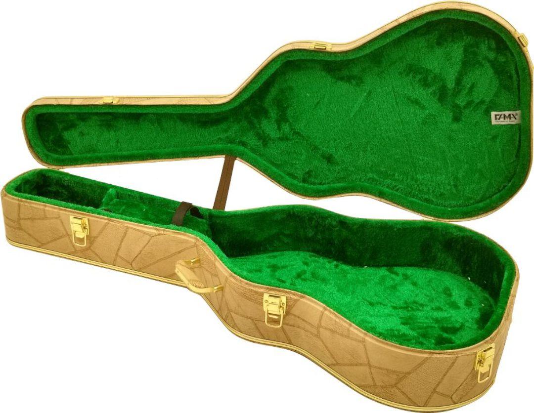 Case Térmico Para Violão Folk Takamine Tagima Crafter Caramelo