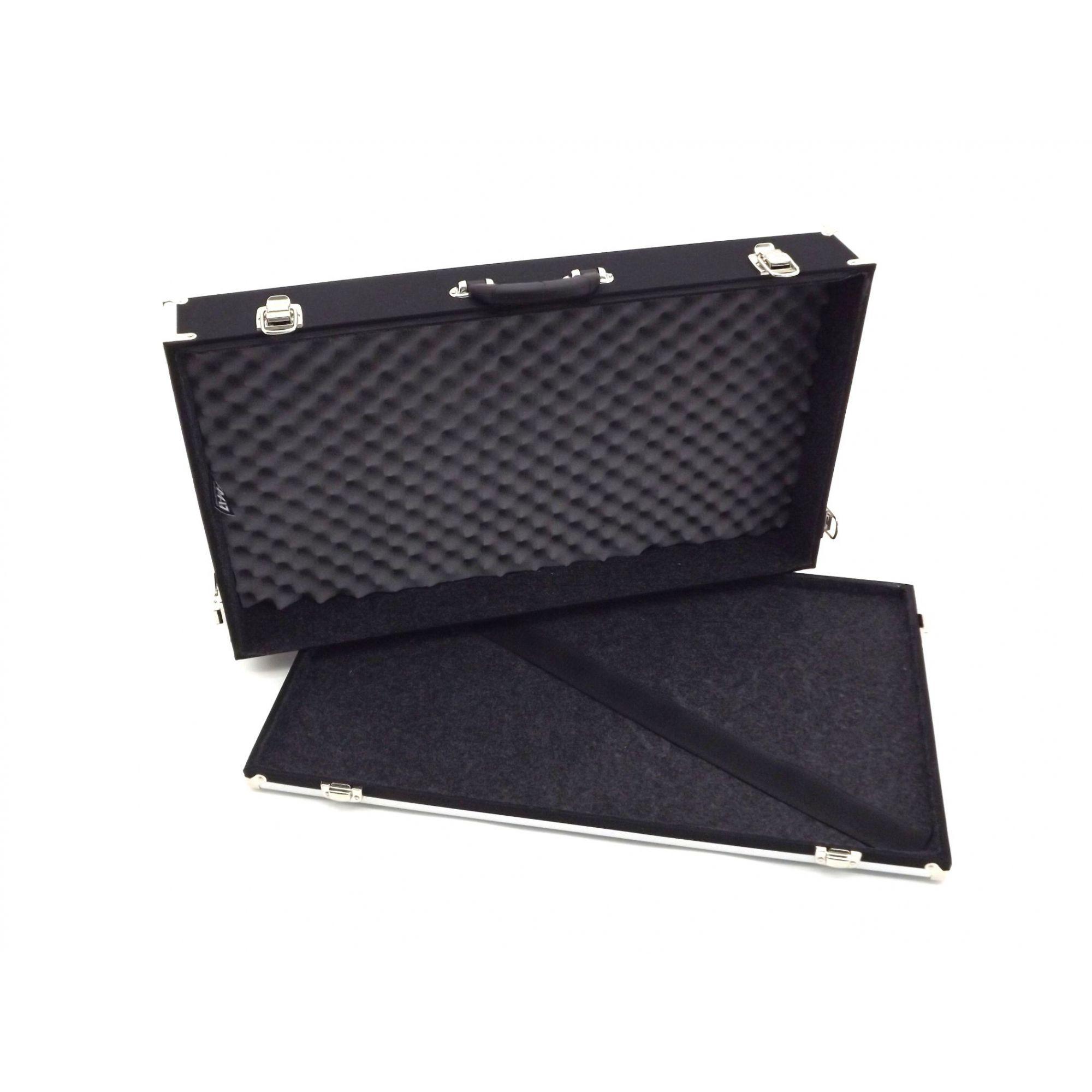 Case Pedais Pedaleira 60x35x10cm Super Luxo