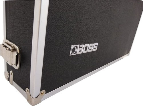 Case Pedais Pedaleiras 65x30x12cm Logo Boss