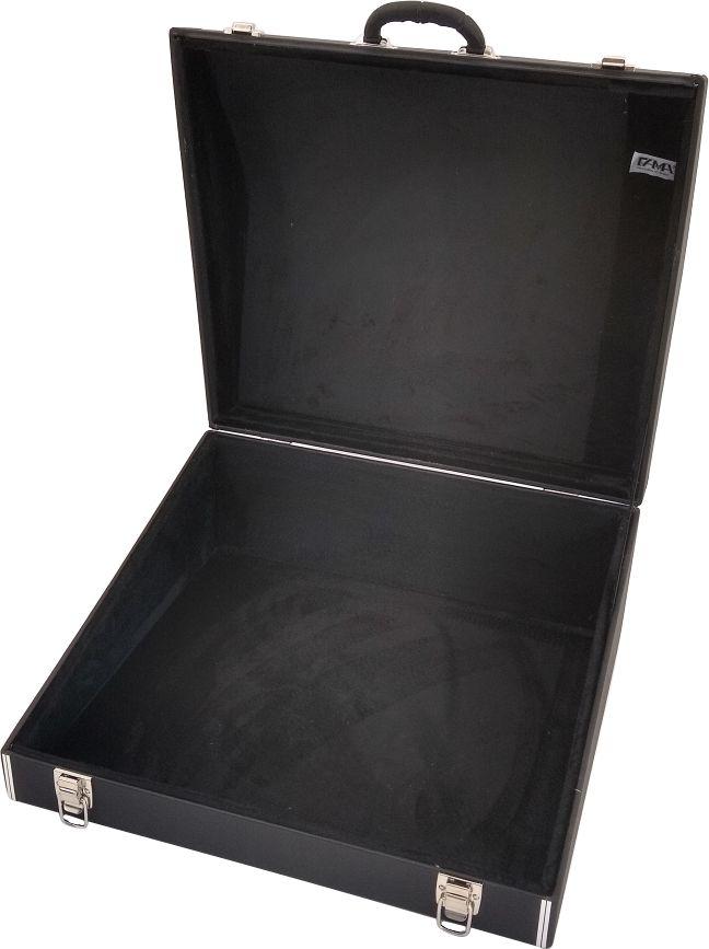 Case Térmico Para Acordeon 120 Baixos Luxo Pelúcia Preta