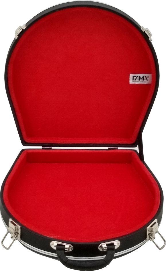 Case Térmico Para Pandeiro Luxo Pelúcia Vermelha