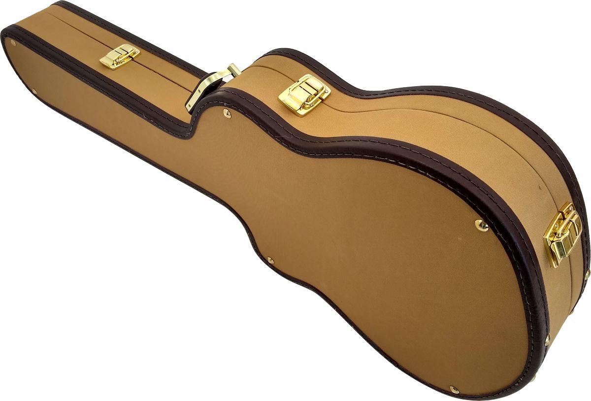 Case Térmico Para Violão Flat Tweed