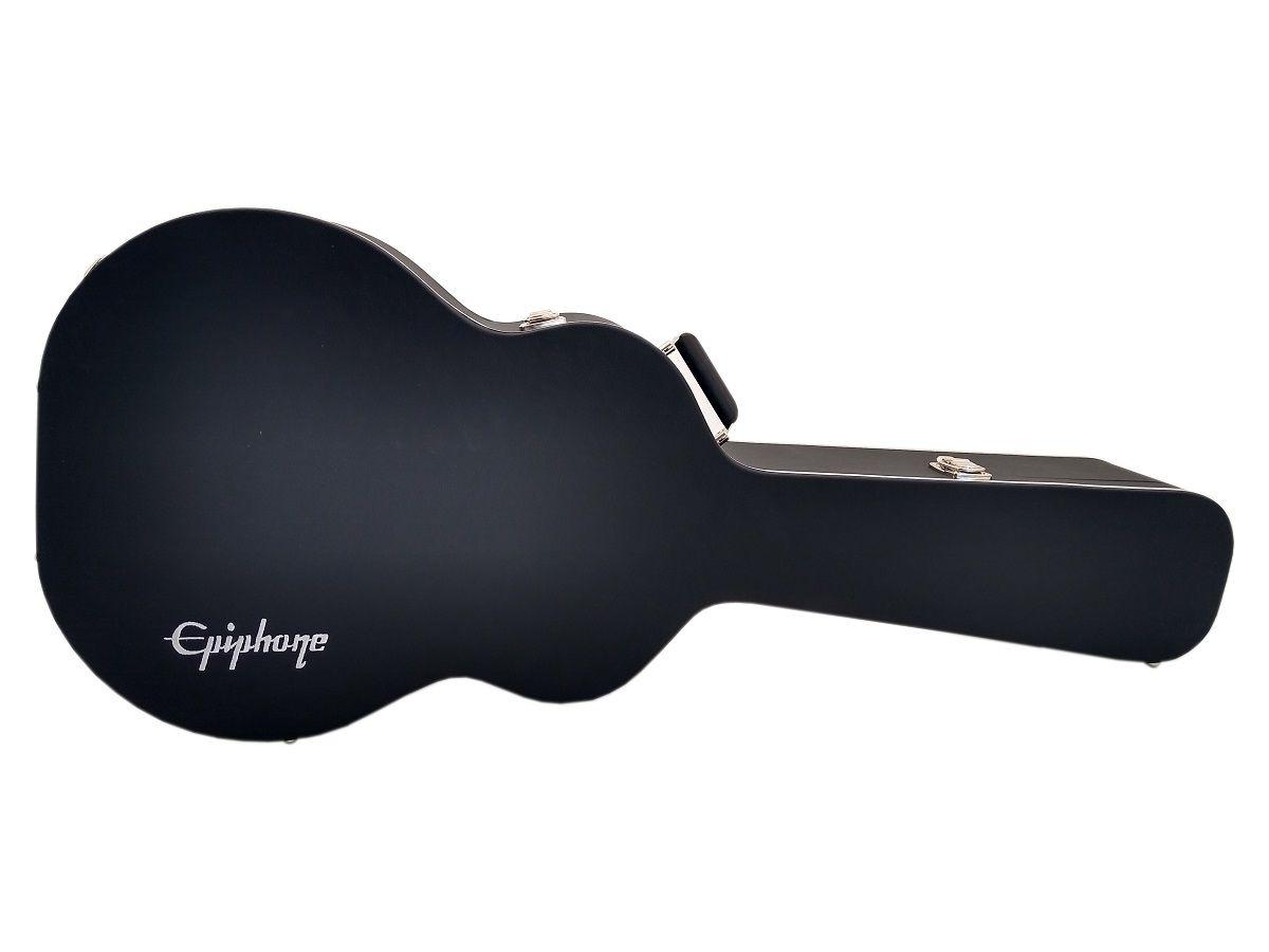 Case Térmico Para Violão Jumbo Logo Epiphone Luxo