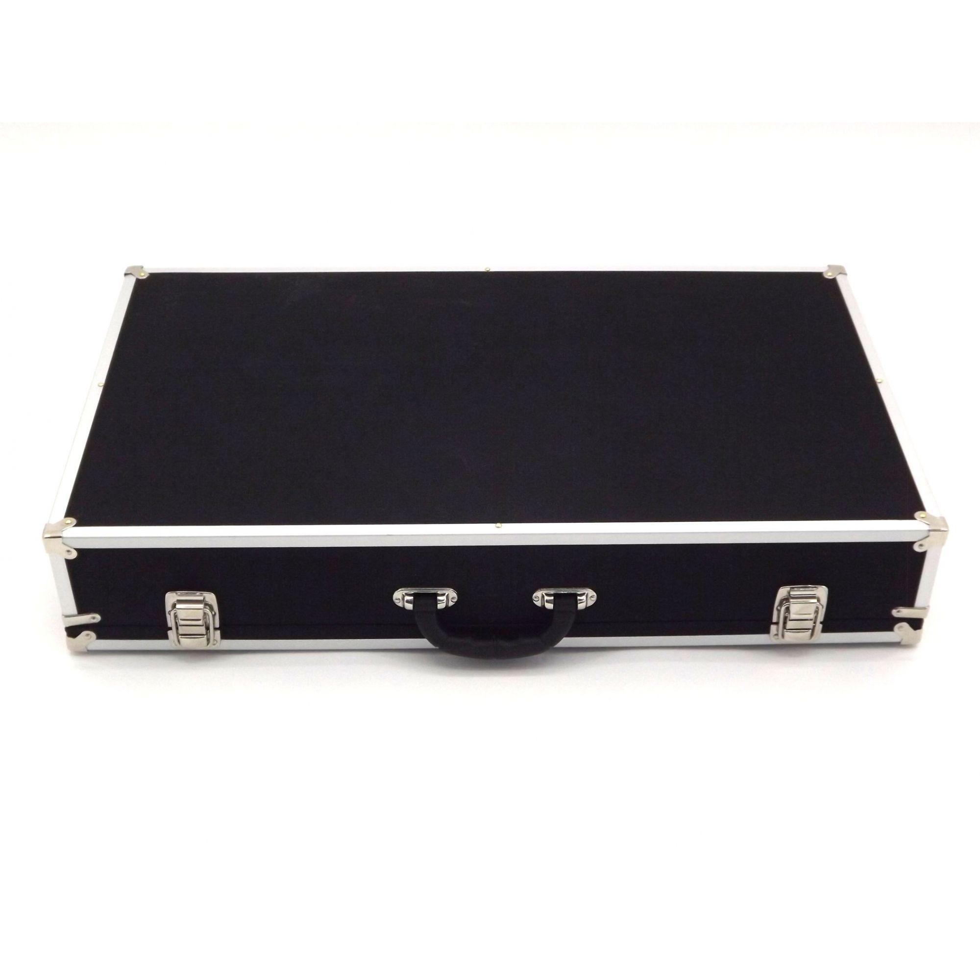 Case Pedais Pedaleira 60x33x10cm Super Luxo