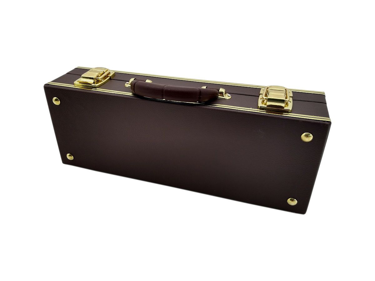Estojo Case Para Clarineta Síb Ou Dó Luxo Marrom