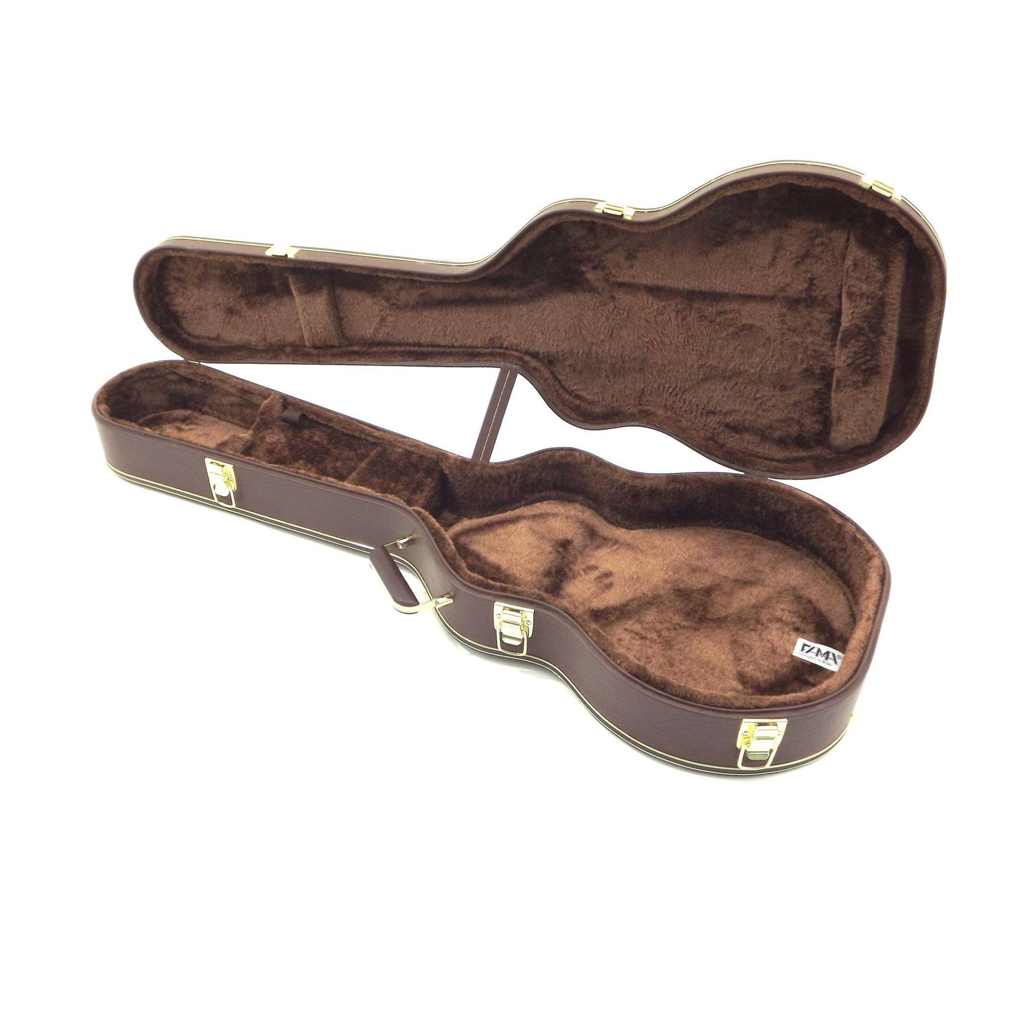 Estojo Case Para Guitarra Les paul Gibson Epiphone Extra Luxo