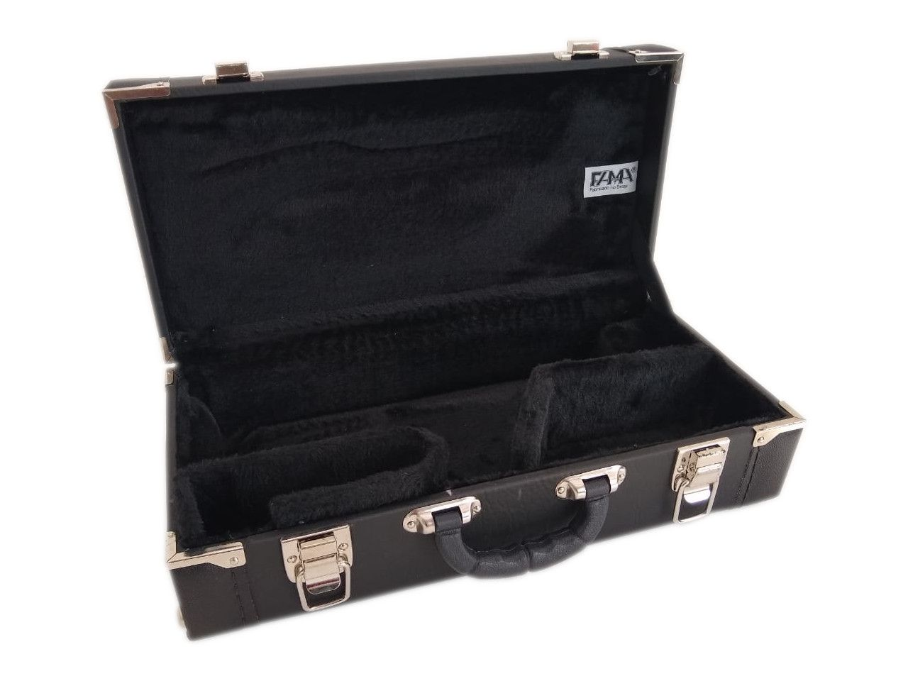 Estojo Case Para Sax Sopranino Extra Luxo Preto