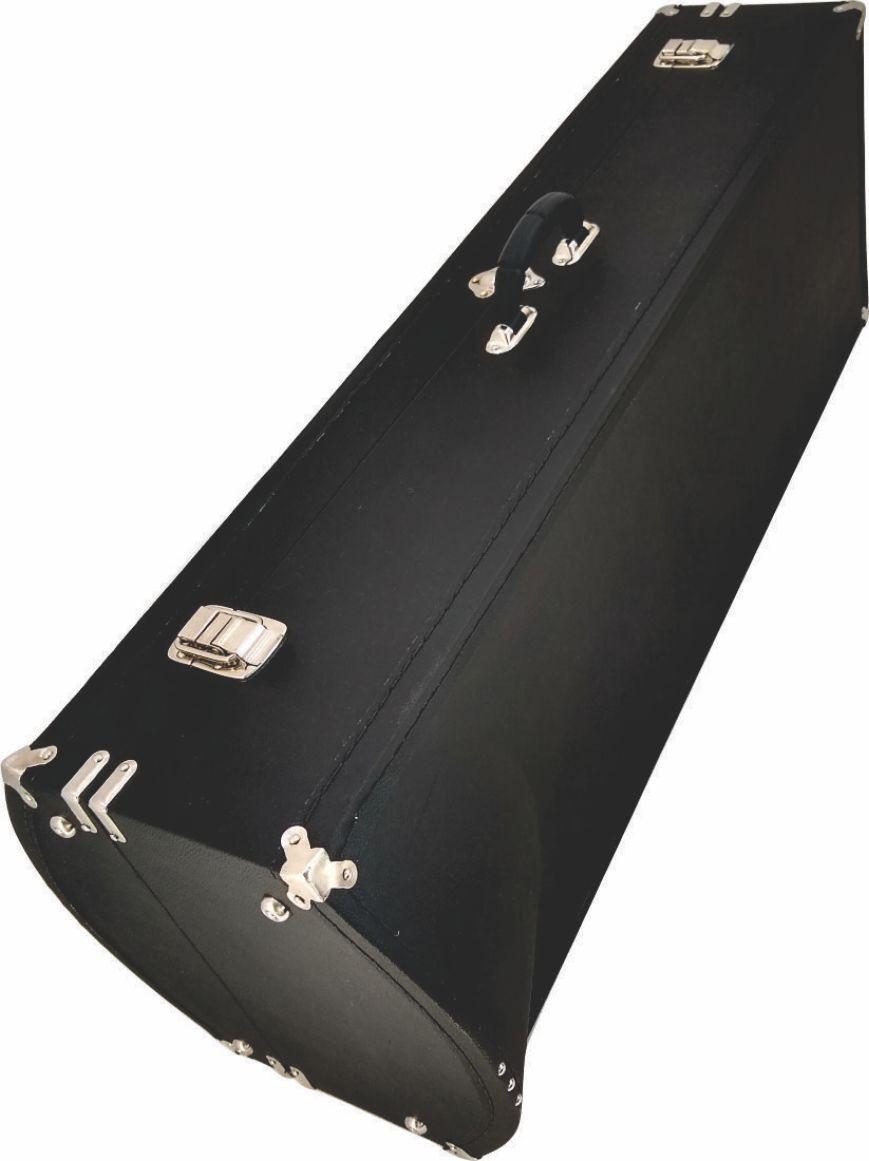 Estojo Case Para Trombone Baixo Com Dois Rotores Super Luxo