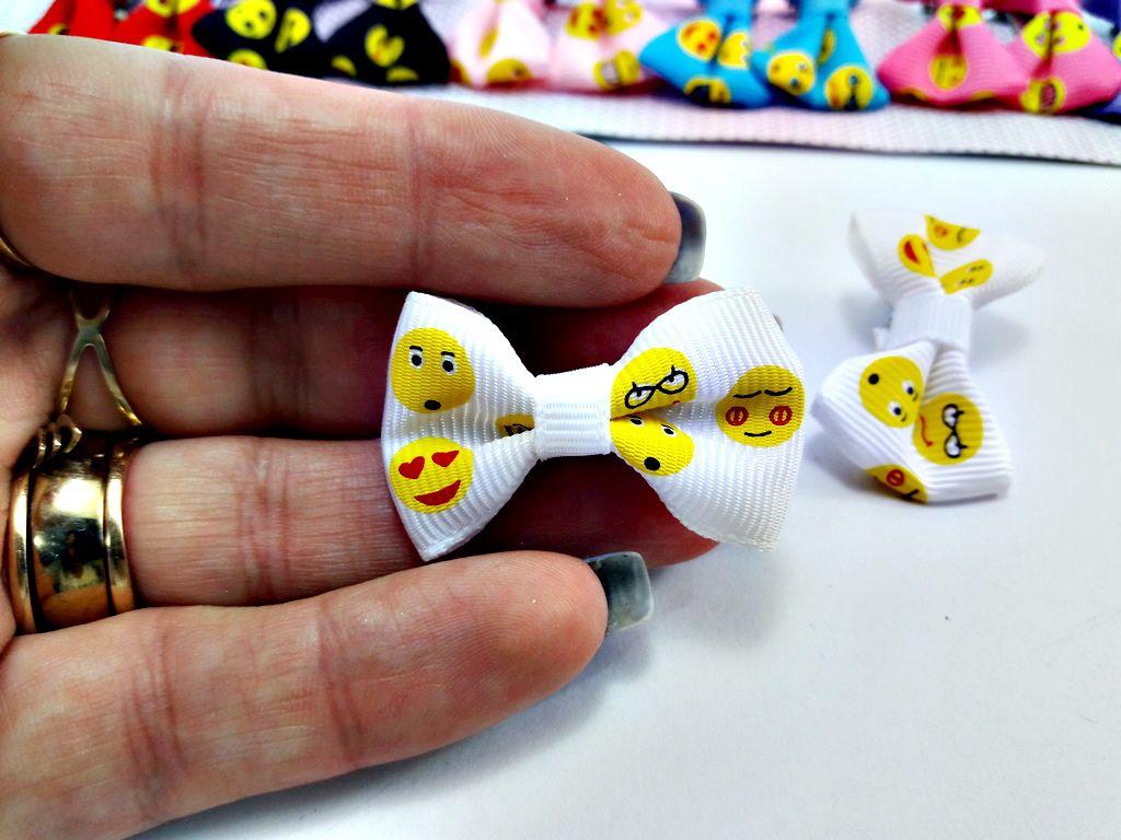 Acessório Cabelo Infantil Tope Laço Emoji - 20 un 6dc91aa006b