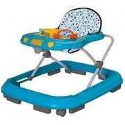 Andador Infantil Safari Musical Azul - Tutti Baby