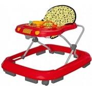 Andador Infantil Safari Musical Vermelho -Tutti Baby