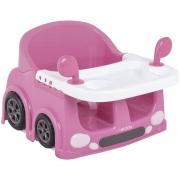 Assento Portátil Para Alimentação Lenox Kiddo Drive Rosa - 1047RO