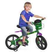 """Bicicleta Aro 14"""" Hulk - Bandeirante"""