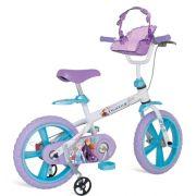 Bicicleta Infantil Bandeirante Frozen II Disney Aro 14