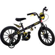 Bicicleta Infantil Batman Aro 16 - Bandeirante