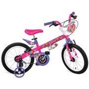 FORA DE LINHA Bicicleta Infantil Princess Disney Aro 16 - Bandeirante