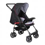 Carrinho de Bebê Milano Reversível II Preto - Galzerano