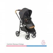Carrinho De Bebê Olympus Protege + Bebê Conforto Cocoon Protege+ Base Cocoon - Galzerano
