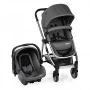 Carrinho de Bebê Travel System Epic Lite Grey + Bêbe Conforto - Infanti