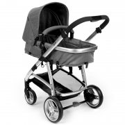 Carrinho de Bebê Travel System Epic Lite Grey Classic+ Bêbe Conforto - Infanti