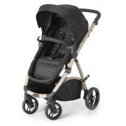 Carrinho de Bebê  Travel System Maly Black Sand + Bebê Conforto - Dzieco