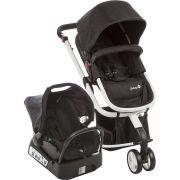 Carrinho de Bebê Travel System Mobi Black & White - Safety 1st