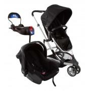 Carrinho Travel System Infanti Sky Trio Black Classic 0 a 15 kg