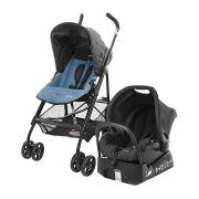 Carrinho de Bebê Travel System Umbrella Trend Azul - Safety 1st