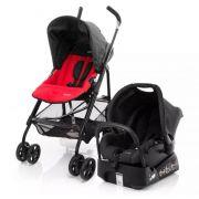 Carrinho de Bebê Travel System Umbrella Trend Red - Safety 1st