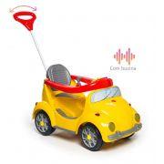 Carrinho de Passeio Infantil a Pedal 1300 Fouks Amarelo - Calesita