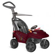 Carrinho Smart Baby Comfort C/ 3 Funções Vinho - Bandeirante