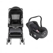 Carrinho Travel System Tutti Baby  Thor New -  Preto com Bebe Conforto