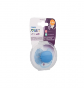 Chupeta Azul Ultra Soft Lisa 6-18 meses - Philips Avent