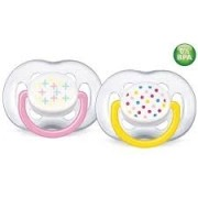 Chupeta Freeflow Contemporânea 6-18m - Philips Avent