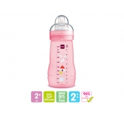 Mamadeira Mam Easy Active 270ml Rosa 2+ Meses (4838)