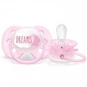 Chupeta ultra soft sonhos menina 0-6 meses