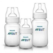 Kit Mamadeiras Classica Anti-colica 125/260/330ml Philips Avent Scd372/03