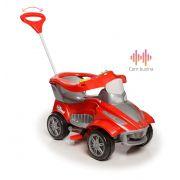 Mini Carro Infantil Calesita Road - 2 em 1 Pedal e Passeio - Vermelho