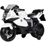 Moto Elétrica 6V - BMW K1300S - Branca - Bandeirante