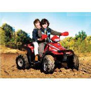 Quadriciclo Elétrico Peg-pérego Polaris Sportsman 700 Twin 12v Vermelho