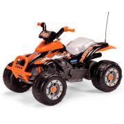 Quadriciclo Infantil Corral T-Rex Arancio Laranja 12V - Peg-Pérego