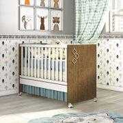 Quarto de Bebê Twister Glass Imbuía 4 portas com Pés - Tcil