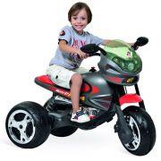 Super Moto Elétrica Infantil GP Grafite 6v - Bandeirante