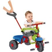 Triciclo Smart Plus Azul/Vermelho - Bandeirante