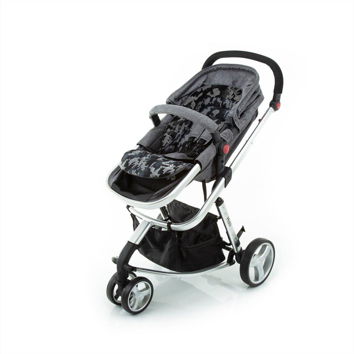 Almofada para Carrinhos - Safe Comfort - Grey Army - Safety 1st